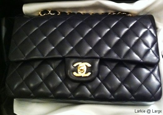 Chanel Clutch With Chain | Larkie @ Large : chanel quilted lambskin clutch bag - Adamdwight.com