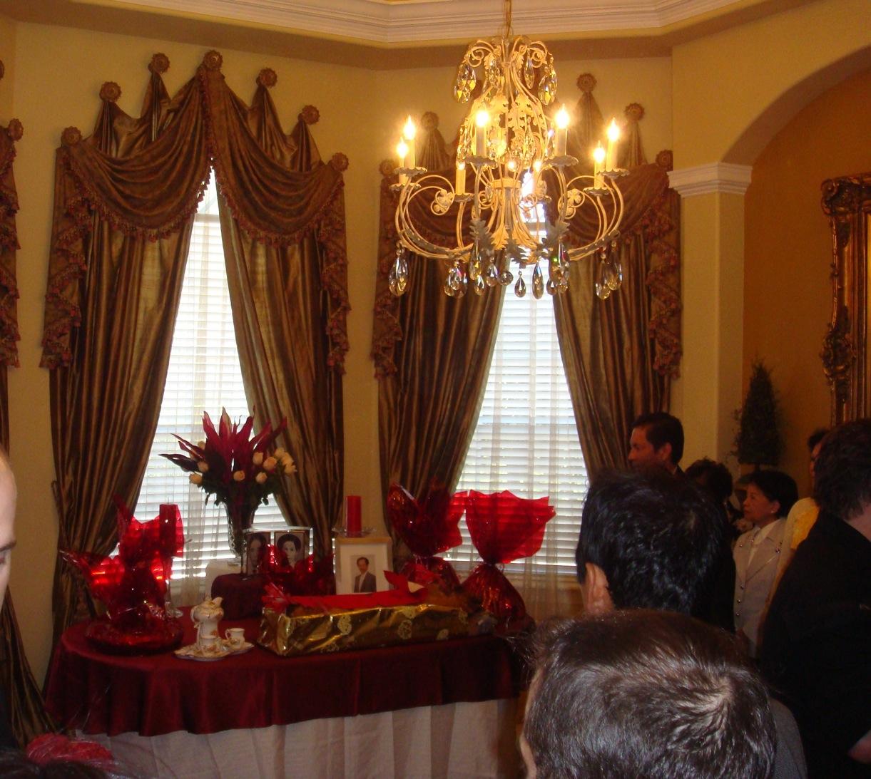 Vietnamese Wedding Altar: Coco, Manolo, And McDo